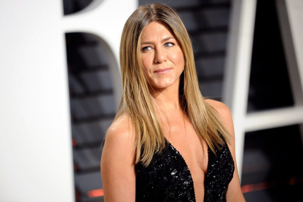 February 26, 2017 - Los Angeles, California, USA - Jennifer Aniston attends the 2017 Vanity Fair Oscar Party hosted by Graydon Carter at Wallis Annenberg Center for the Performing Arts on February 26, 2017 in Beverly Hills, California., Image: 322734756, License: Rights-managed, Restrictions: , Model Release: no, Credit line: Profimedia, Zuma Press - Entertaiment