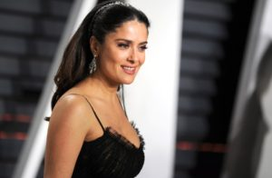 Salma Hayek at the Vanity Fair party, 89th Annual Academy Awards, Los Angeles, USA. 26.02.2017, Image: 322820436, License: Rights-managed, Restrictions: WORLD RIGHTS- Fee Payable Upon Reproduction - For queries contact Photoshot - sales@avalon.red London: +44 (0) 20 7421 6000 Los Angeles: +1 (310) 822 0419 Berlin: +49 (0) 30 76 212 251, Model Release: no, Credit line: Profimedia, Uppa entertainment
