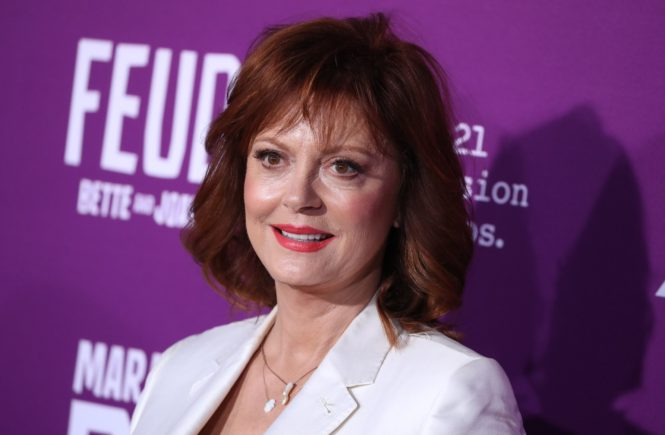 AG_174483 - - Hollywood, CA - Susan Sarandon at the Los Angeles Premiere Of FX Network's 'Feud: Bette and Joan' held at the TCL Chinese Theatre. Pictured: Susan Sarandon 1 MARCH 2017, Image: 322988899, License: Rights-managed, Restrictions: , Model Release: no, Credit line: Profimedia, AKM-GSI