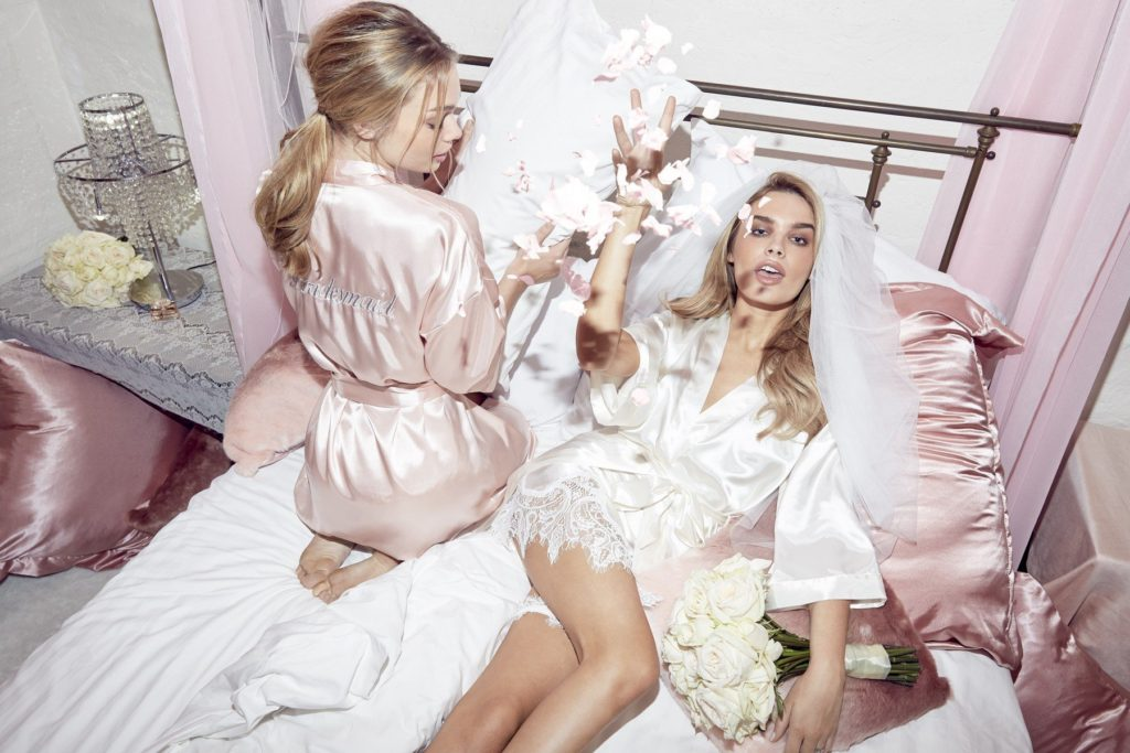 "Picture Shows: Chloe lloyd  Models seen showing off the bridal range just launched by Lipsy. The range is available for purchase now.  British model Chloe Lloyd was fronting the campaign on the photoshoot.  The blonde model is well know for appearing in The Wanted's song, ""I Found You.""  Chloe is no stranger to the gossip colums  having been in a relationship with ""Union J"" member Josh Cuthbert since late 2014.  Worldwide Rights Exclusive All Rounder, Image: 323189904, License: Rights-managed, Restrictions: Exclusive - All Round No Digital Rights Without Permission Please Credit All Uses, Model Release: no, Credit line: Profimedia, FameFlynet UK"