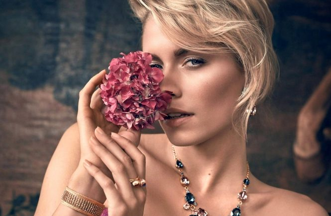 Lena Gercke is the face for the new Spring 2017 campaign of Cadenzza Jewelry, Image: 325109039, License: Rights-managed, Restrictions: , Model Release: no, Credit line: Profimedia, Thunder Press