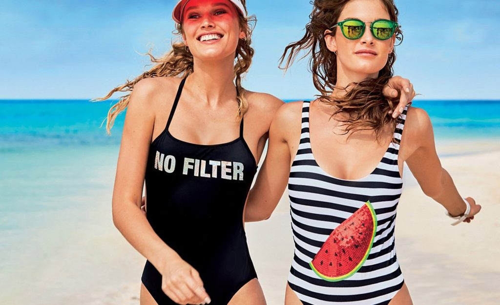 German fashion model Toni Garrn alongside Blanca Padilla, Georgia Fowler and Ophelie Guillerman in the promotional pictures of Caledonia Swim 2017 collection., Image: 328017934, License: Rights-managed, Restrictions: EDITORIAL USE ONLY, Model Release: no, Credit line: Profimedia, Balawa Pics