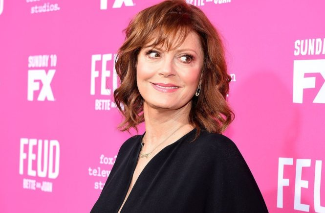 "LOS ANGELES - APRIL 21: Susan Sarandon attends the FYC Red Carpet Event for ""Feud: Bette and Joan"" presented by FX and Fox 21 Television Studios at the Wilshire Ebell Theatre on April 21, 2017 in Los Angeles, California., Image: 329800684, License: Rights-managed, Restrictions: *** World Rights ***, Model Release: no, Credit line: Profimedia, SIPA USA"