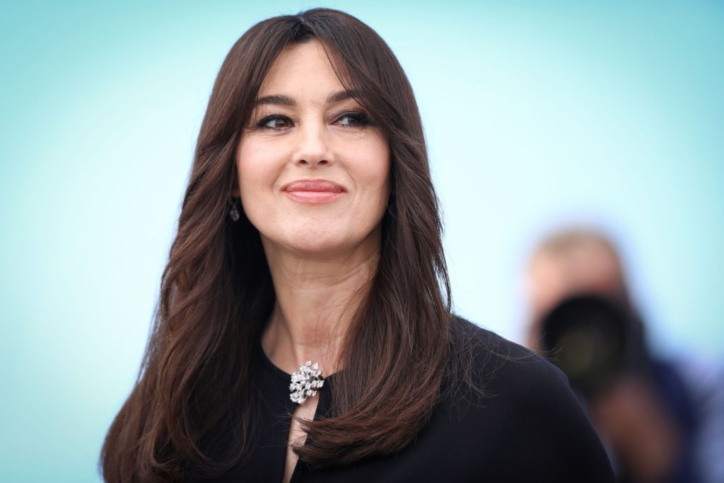 Monica Bellucci attends a photocall for her duty as Mistress of Ceremonies during the 70th annual Cannes Film Festival at Palais des Festivals on May 17, 2017 in Cannes, France, Image: 332561277, License: Rights-managed, Restrictions: Worldwide rights, Model Release: no, Credit line: Profimedia, Crystal pictures