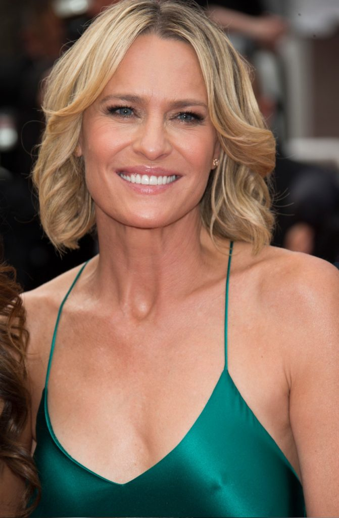 CANNES, FRANCE - MAY 18: Robin Wright attends the 'Loveless (Nelyubov)' screening during the 70th annual Cannes Film Festival at Palais des Festivals on May 18, 2017 in Cannes, France., Image: 332759738, License: Rights-managed, Restrictions: **Restricted - No USA, No Benelux, No Germany**, Model Release: no, Credit line: Profimedia, Capital pictures