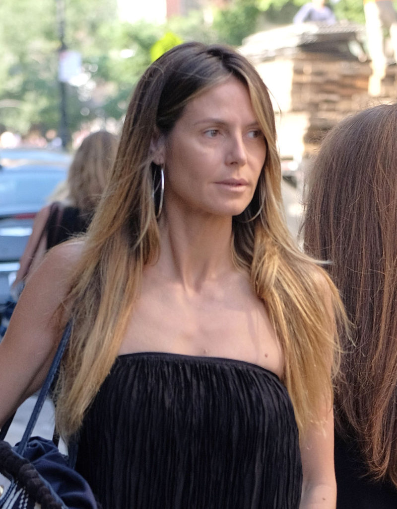 June 13, 2017 - New York, New York, United States - TV personality Heidi Klum goes make-up free as she leaves a downtown hotel on June 13 2017 in New York City, Image: 337640306, License: Rights-managed, Restrictions: , Model Release: no, Credit line: Profimedia, Zuma Press - Entertaiment
