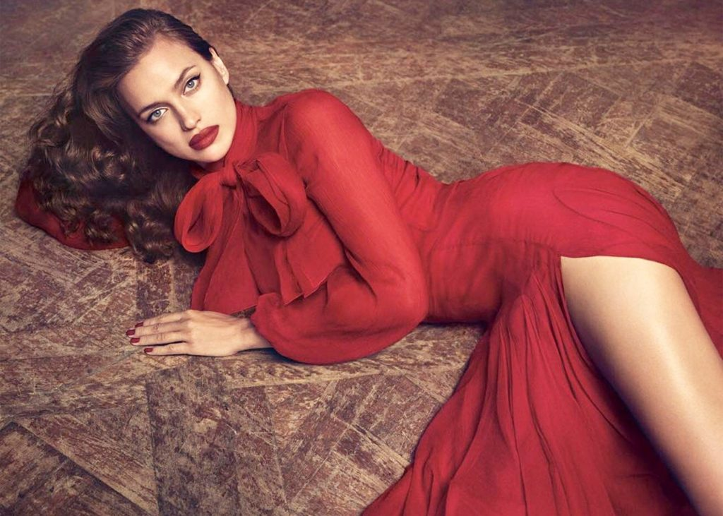 Russian fashion model Irina Shayk in promotional pictures and clip stills from Blumarine Fall Winter 2017-2018 collection., Image: 338758404, License: Rights-managed, Restrictions: EDITORIAL USE ONLY, Model Release: no, Credit line: Profimedia, Balawa Pics