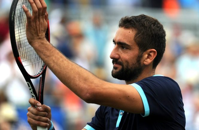 Jun 23, 2017 - England, United Kingdom - Aegon Championships 2017 - Marin Cilic v Donald Young (Credit Image: © Kevin Quigley/Daily Mail/SOLO Syndication), Image: 339246636, License: Rights-managed, Restrictions: , Model Release: no, Credit line: Profimedia, Solo