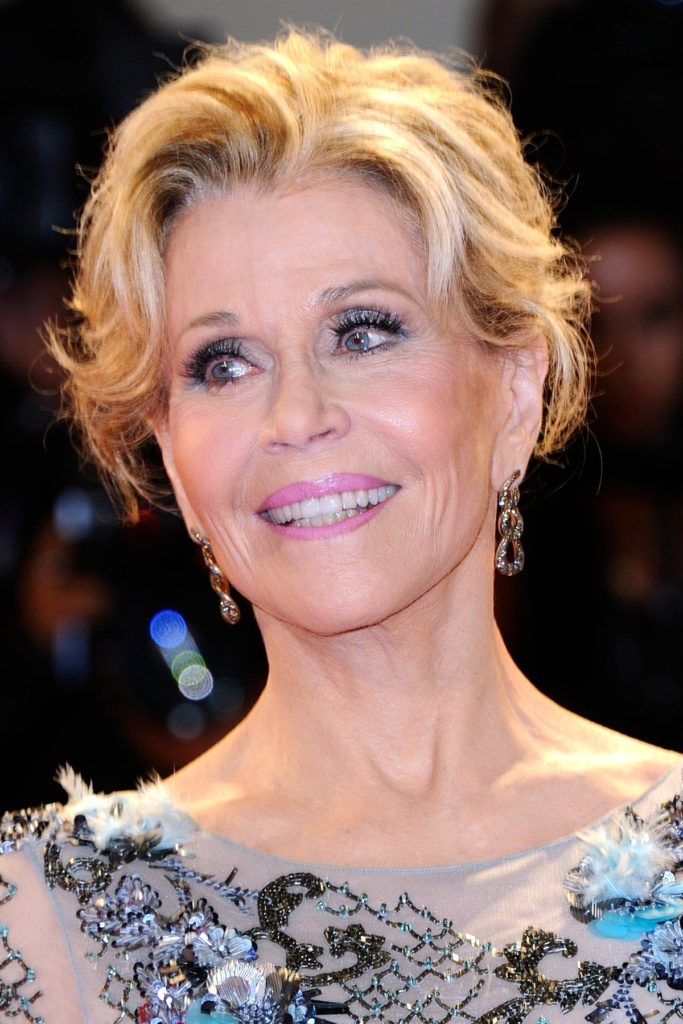 Jane Fonda attending the Our Souls at Night premiere during the 74th Venice International Film Festival (Mostra di Venezia) at the Lido, Venice, Italy on September 01, 2017., Image: 348045540, License: Rights-managed, Restrictions: , Model Release: no, Credit line: Profimedia, Abaca