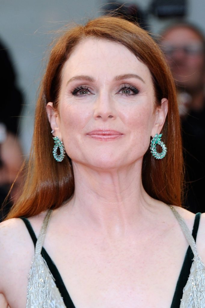 Julianne Moore attending the Suburbicon Premiere during the 74th Venice International Film Festival (Mostra di Venezia) at the Lido, Venice, Italy on September 02, 2017., Image: 348140507, License: Rights-managed, Restrictions: , Model Release: no, Credit line: Profimedia, Abaca