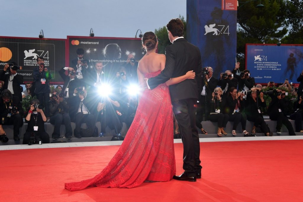 Giampaolo Morelli, Serena Rossi during 'Ammore e Malavita' premiere, 74th Venice Film Festival, Venice, 06/, Image: 348532941, License: Rights-managed, Restrictions: UK and ITALY OUT- Fee Payable Upon Reproduction - For queries contact Avalon.red - sales@avalon.red London: +44 (0) 20 7421 6000 Los Angeles: +1 (310) 822 0419 Berlin: +49 (0) 30 76 212 251, Model Release: no, Credit line: Profimedia, Uppa entertainment