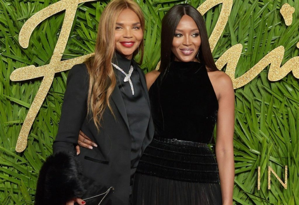 Naomi Campbell and her mother Valerie Morris attending The Fashion Awards 2017 at the Royal Albert Hall, London, UK. 04/12/2017., Image: 356929369, License: Rights-managed, Restrictions: , Model Release: no, Credit line: Profimedia, TEMP Camerapress