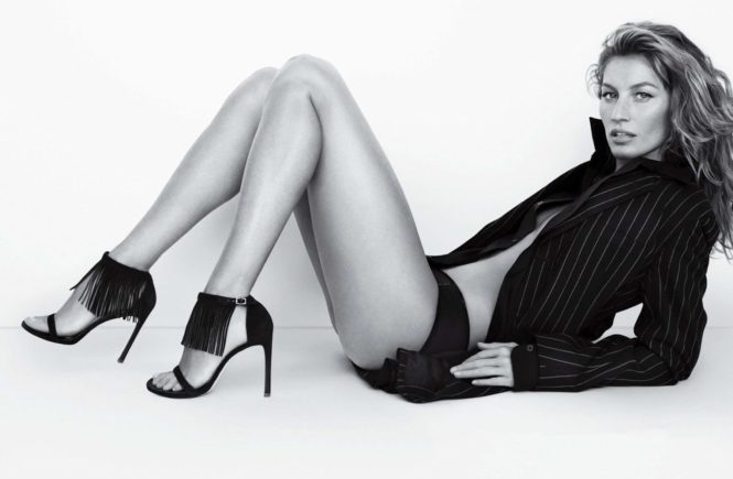 Gisele Bundchen in the new spring summer 2015 ad campaign of Stuart Weitzman shoes, Image: 218636507, License: Rights-managed, Restrictions: , Model Release: no, Credit line: Profimedia, Thunder Press