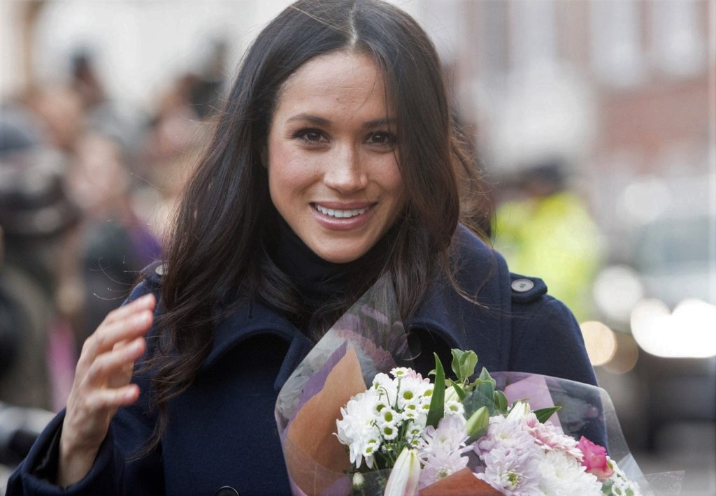 1 December 2017. Meghan Markle and Prince Harry visit Nottingham today., Image: 356629110, License: Rights-managed, Restrictions: **No UK Sales Until 28 Days After Create Date**, Model Release: no, Credit line: Profimedia, Goff Photos