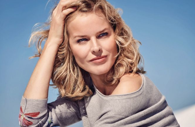 Eva Herzigova, the face of the Gerry Weber Spring/Summer 2018 collection. Photographed by Pamela Hanson in Santorini., Image: 363909323, License: Rights-managed, Restrictions: FOR EDITORIAL USE ONLY. NOT FOR COVER USAGE., Model Release: no, Credit line: Profimedia, TEMP Camerapress