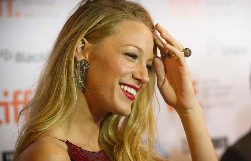 Sep 11, 2010 - Toronto, Ontario, Canada - Actress BLAKE LIVELY wearing a sequined Chanel dress interacts with fans at the Toronto International Film Festival red carpet gala of Ben Affleck's The Town., Image: 109202640, License: Rights-managed, Restrictions: , Model Release: no, Credit line: Profimedia, Zuma Press - Archives