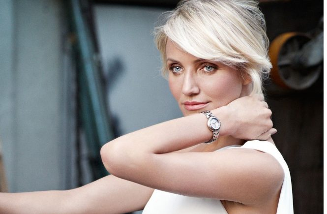 March 2012-Cameron Diaz doesn't play it safe. This risk-taking quality makes her the perfect fit with the Swiss Avant-Garde brand. TAG Heuer's daring timekeeping devices challenge every principle in watchmaking; Ms. Diaz's unorthodox body of work challenges every principle in the making of a star. Cameron Diaz is dangerously more than just a sexy blonde., Image: 121432692, License: Rights-managed, Restrictions: WORLDWIDE RIGHTS, Model Release: no, Credit line: Profimedia, Crystal pictures