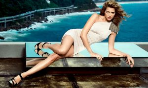 Brazilian model Ana Beatriz Barros stars the Spring Summer 2014 collection of brand Naima. EDITORIAL USE (HO) - 23/10/2013, Image: 175163619, License: Rights-managed, Restrictions: EDITORIAL USE / 021 pics., Model Release: no, Credit line: Profimedia, Balawa Pic
