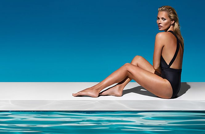 British model Kate Moss poses in a new pictures as St. Tropez's new face. 12/12/2013, Image: 179540058, License: Rights-managed, Restrictions: EDITORIAL USE (HO) / 01 pix, Model Release: no, Credit line: Profimedia, Balawa Pics