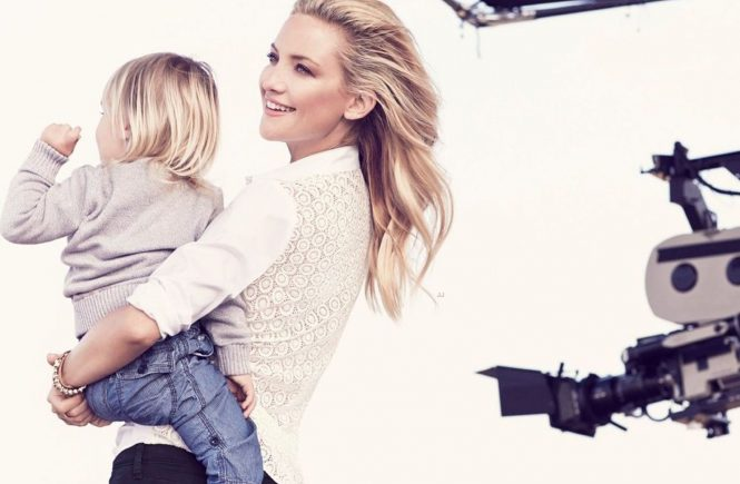 American actress Kate Hudson with her son Bing and Ryder in the promotional images and stills from Spring 2014 Ann Taylor ad campaign. 03/02/2014, Image: 183536025, License: Rights-managed, Restrictions: EDITORIAL USE (HO) / 13 pics., Model Release: no, Credit line: Profimedia, Balawa Pics
