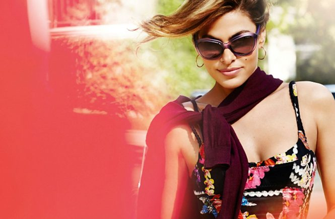 American actress Eva Mendes in the promotional pictures for Vogue Eyewear., Image: 185554143, License: Rights-managed, Restrictions: EDITORIAL USE / 009 pix., Model Release: no, Credit line: Profimedia, Balawa Pics