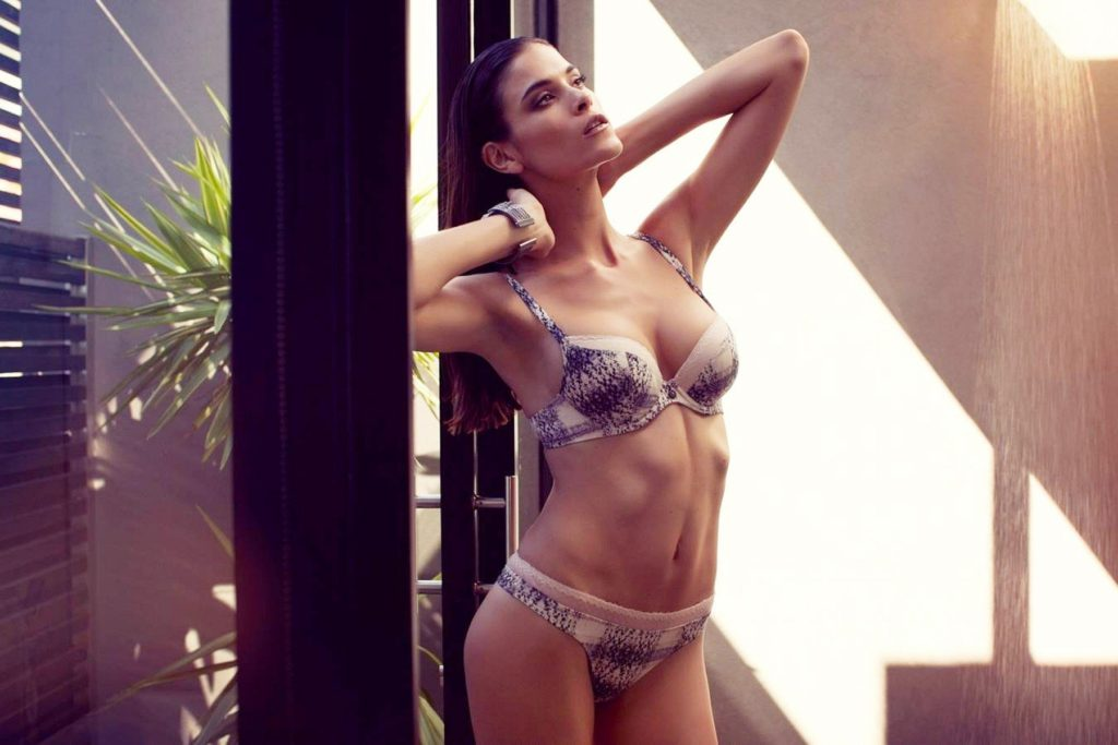 South Africa fashion model Jenna Pietersen stars in Lingadore Lingerie Spring Summer 2014 collection., Image: 192712772, License: Rights-managed, Restrictions: EDITORIAL USE ONLY, Model Release: no, Credit line: Profimedia, Balawa Pics