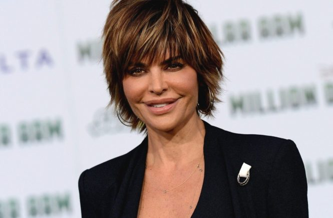 LISA RINNA @ the premiere of 'Million Dollar Arm' held @ El Capitan theatre. May 6, 2014, Image: 192939797, License: Rights-managed, Restrictions: AMERICA, Model Release: no, Credit line: Profimedia, Visual