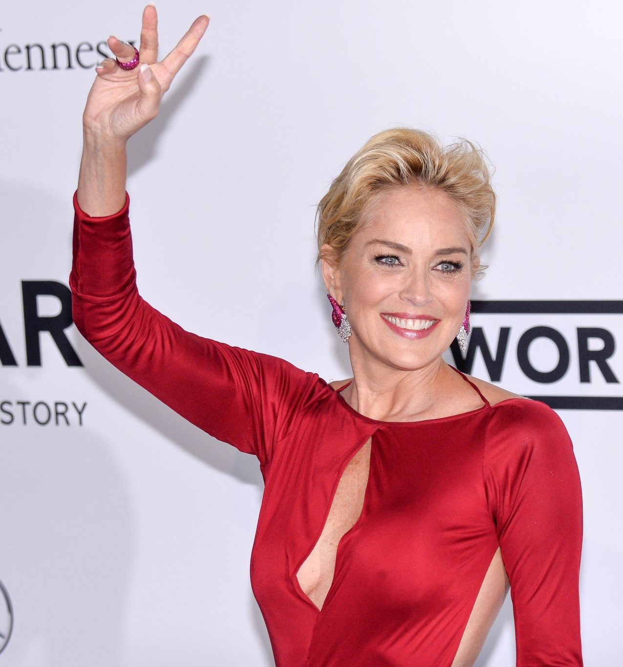 Sharon Stone. amfAR's 21st Cinema Against AIDS Gala Presented By WORLDVIEW, BOLD FILMS, And BVLGARI at Hotel du Cap-Eden-Roc on May 22, 2014 in Cap d'Antibes, France. EC/PS/MCI, Image: 194471696, License: Rights-managed, Restrictions: NONE, Model Release: no, Credit line: Profimedia, Whats Up
