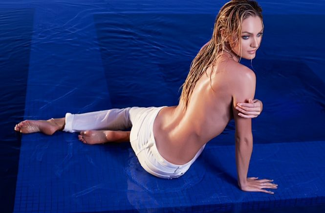 South African Victoria«s Secret's Angel Candice Swanepoel in the photoshoot for energy drink Hype Energy USA 2014 advertising campaign., Image: 197435169, License: Rights-managed, Restrictions: EDITORIAL USE ONLY, Model Release: no, Credit line: Profimedia, Balawa Pics