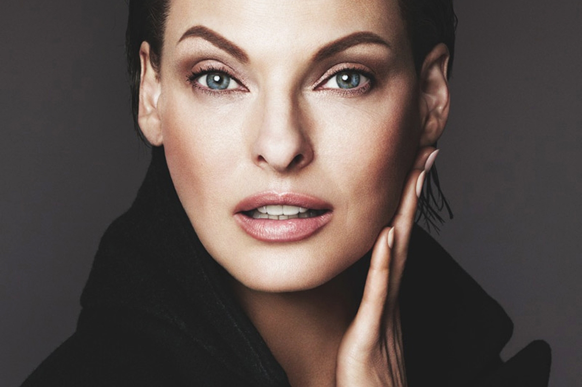 Canadian topmodel Linda Evangelista in the print ad for Dolce & Gabbana Lift Foundation., Image: 204498839, License: Rights-managed, Restrictions: EDITORIAL USE ONLY, Model Release: no, Credit line: Profimedia, Balawa Pics