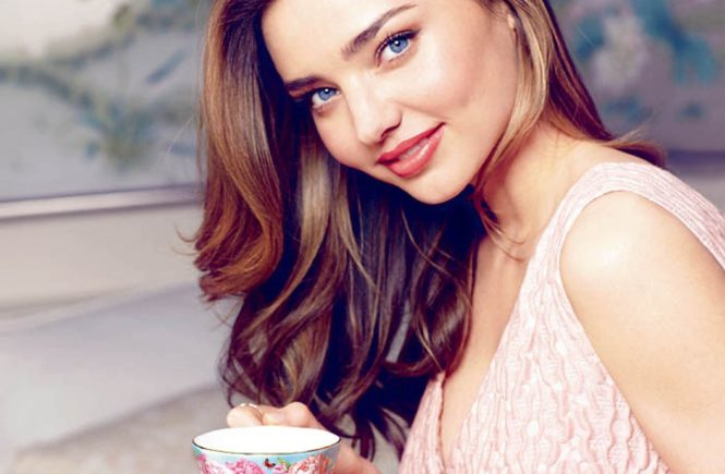 Australian model Miranda Kerr in promotional pics as the new face of Royal Albert for a new collection of bone china tea and giftware., Image: 205782340, License: Rights-managed, Restrictions: EDITORIAL USE ONLY, Model Release: no, Credit line: Profimedia, Balawa Pics