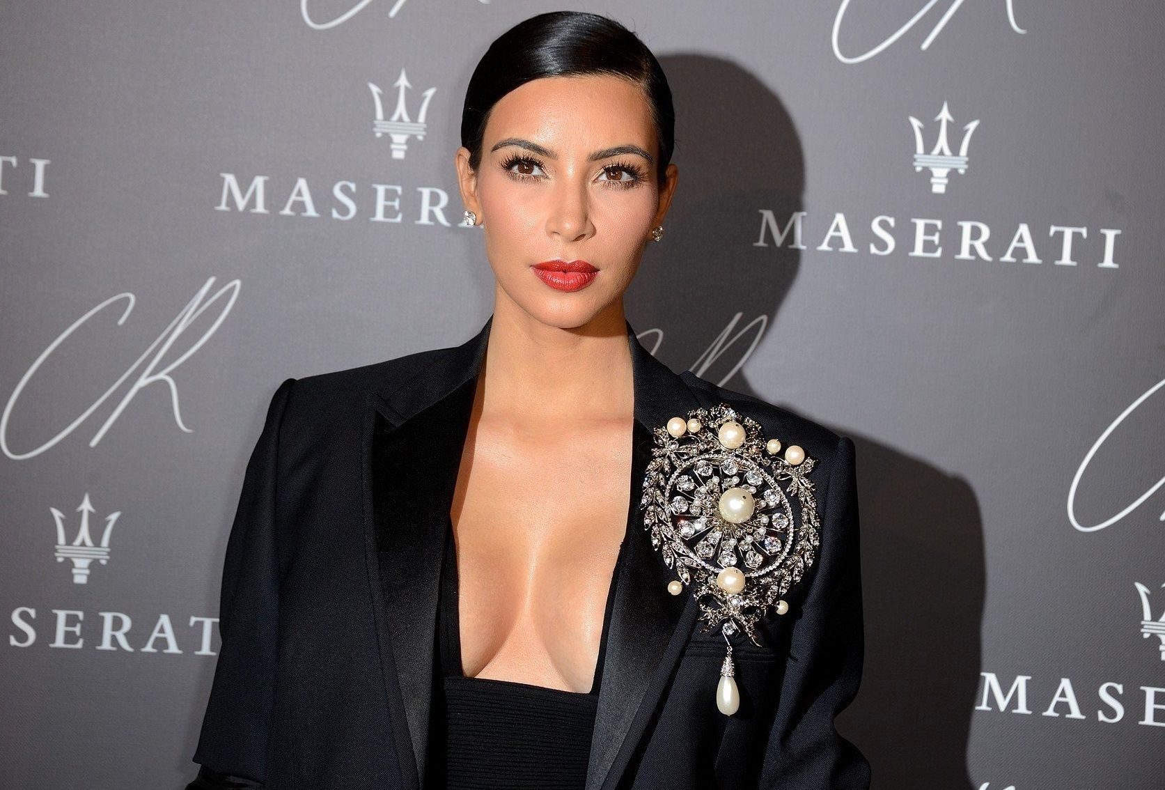 Kim Kardashian attending the CR Fashion Book Issue N.5 Launch Party held at Hotel Peninsula in Paris, France, on September 30, 2014. Photo by Nicolas Briquet/ABACAPRESS.COM