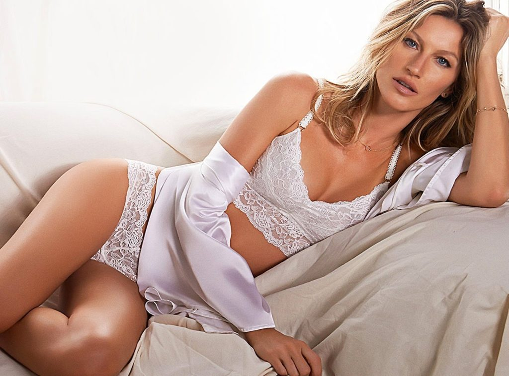 Brazilian supermodel Gisele Bundchen in promotional and behind the scenes pictures for her own brand Gisele Intimates in their 2014 collections., Image: 212194003, License: Rights-managed, Restrictions: EDITORIAL USE ONLY, Model Release: no, Credit line: Profimedia, Balawa Pics