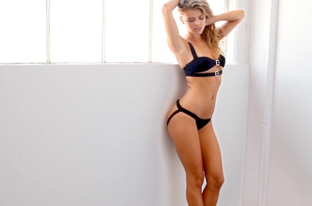 Danish fashion model Nina Agdal poses for Holiday 2015 collection of lingerie brand Love Haus., Image: 212951379, License: Rights-managed, Restrictions: EDITORIAL USE ONLY, Model Release: no, Credit line: Profimedia, Balawa Pics