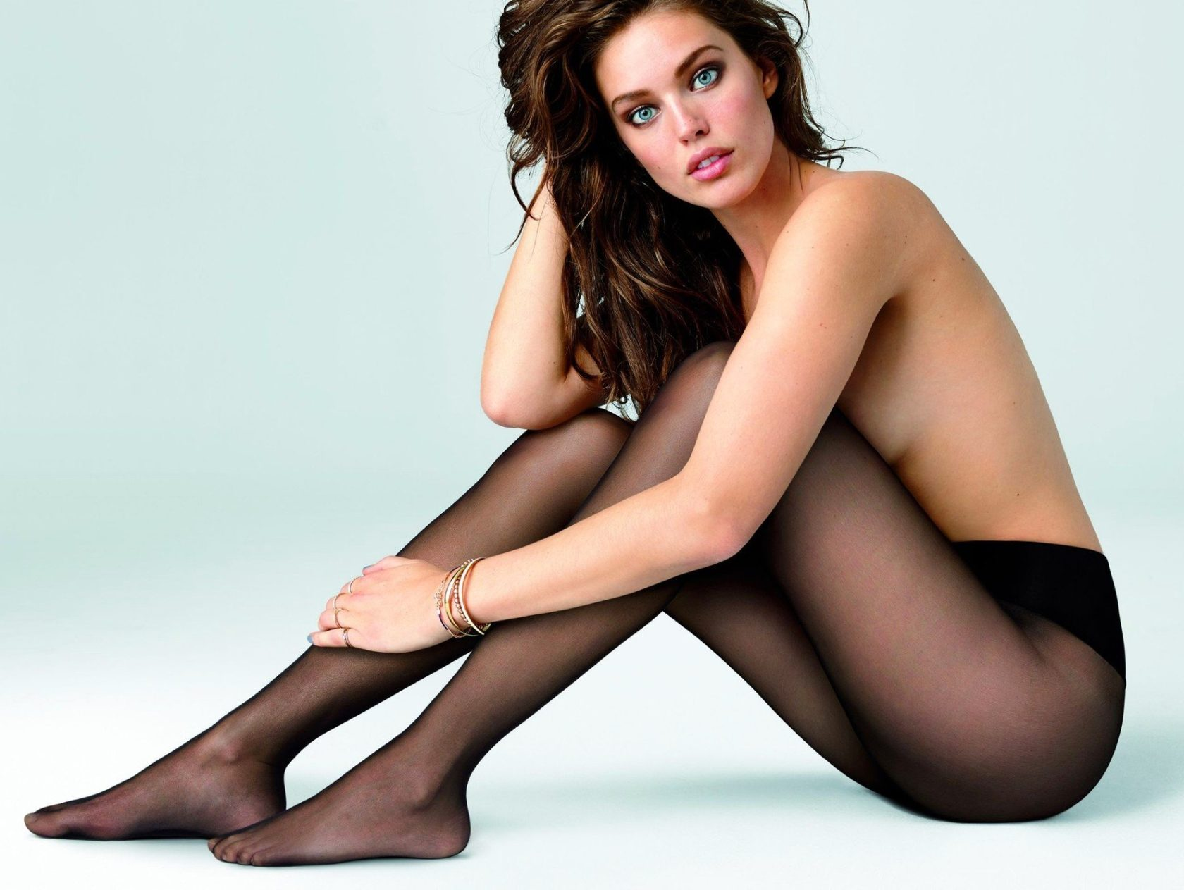 American fashion model Emily DiDonato poses in topless for Calzedonia 2015 advertising campaign., Image: 215281878, License: Rights-managed, Restrictions: EDITORIAL USE ONLY, Model Release: no, Credit line: Profimedia, Balawa Pics