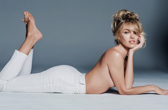 "CANDICE SWANEPOEL has turned her hand to designing, with a capsule denim collection for Mother. The South African model - who told us last year that she is attracted to projects that allow her to ""help in some way"" - agreed to work on the collection in part because it benefits a cause close to her heart: African-based charity Mothers2mothers., Image: 216581398, License: Rights-managed, Restrictions: , Model Release: no, Credit line: Profimedia, Thunder Press"