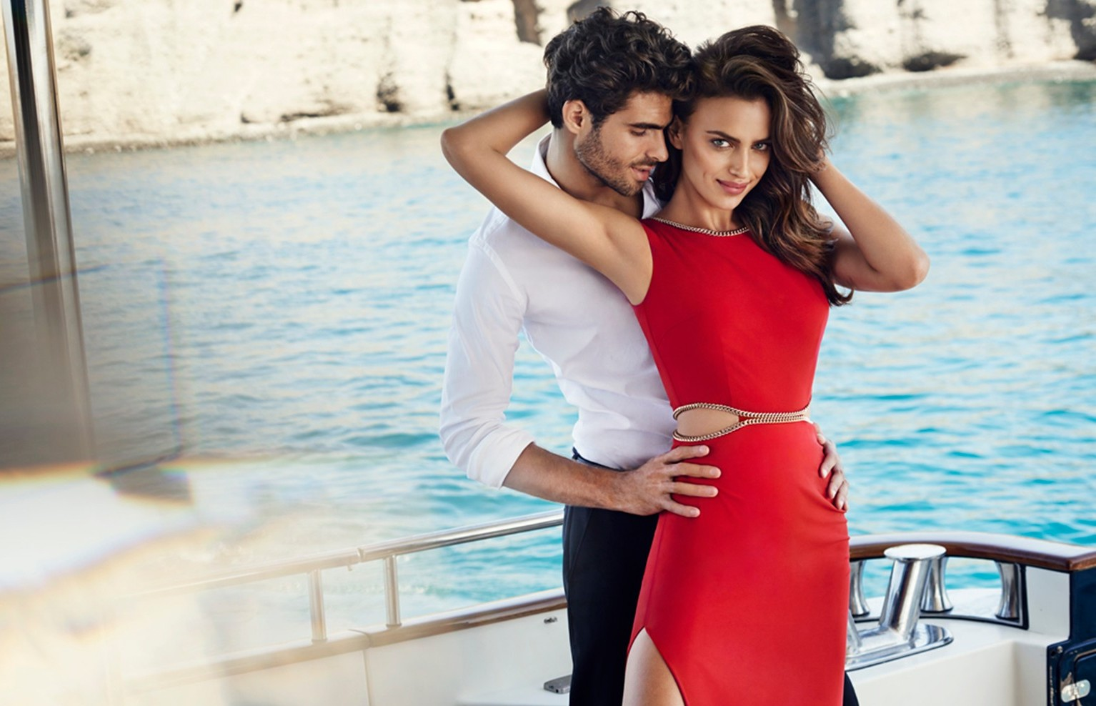 Irina Shayk in the new spring summer 2015 ad campaign of Love Republic, Image: 217252184, License: Rights-managed, Restrictions: , Model Release: no, Credit line: Profimedia, Thunder Press