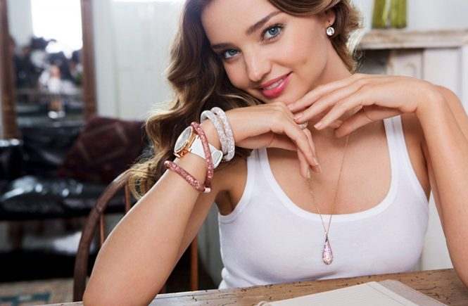 Australian supermodel Miranda Kerr in new promotional pictures of Swarovski Spring Summer 2015 Allure collection., Image: 218805886, License: Rights-managed, Restrictions: EDITORIAL USE ONLY, Model Release: no, Credit line: Profimedia, Balawa Pics