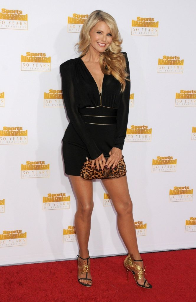 14 January 2014 - Hollywood, California - Christie Brinkley. 50th Anniversary of the Sports Illustrated Swimsuit Issue held at The Dolby Theatre. Photo Credit: Byron Purvis/AdMedia/ADMEDIA_adm_SportsIllustrated50th_BP_205/Credit:Byron Purvis/AdMedia/SIPA/1401151523, Image: 226037885, License: Rights-managed, Restrictions: , Model Release: no, Credit line: Profimedia, TEMP Sipa Press