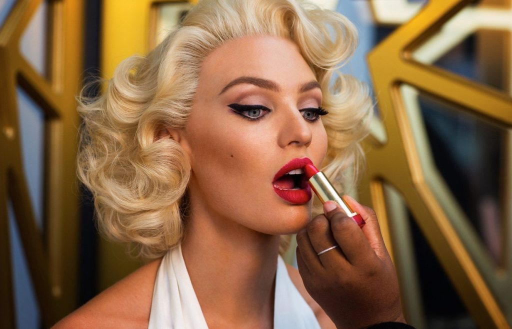 Candice Swanepoel as Marilyn Monroe in the behind the scenes pictures of the new ad campaign of Max Factor, Image: 238171733, License: Rights-managed, Restrictions: , Model Release: no, Credit line: Profimedia, Thunder Press