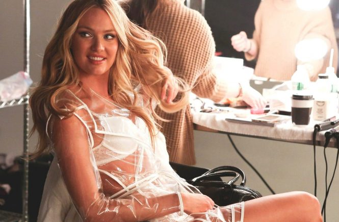 "Candice Swanepoel , Martha Hunt and Jasmine Tookes in the behind the scenes of the new promotional video ""Angels & Umbrellas"" of Victorias Secret, Image: 238558924, License: Rights-managed, Restrictions: , Model Release: no, Credit line: Profimedia, Thunder Press"