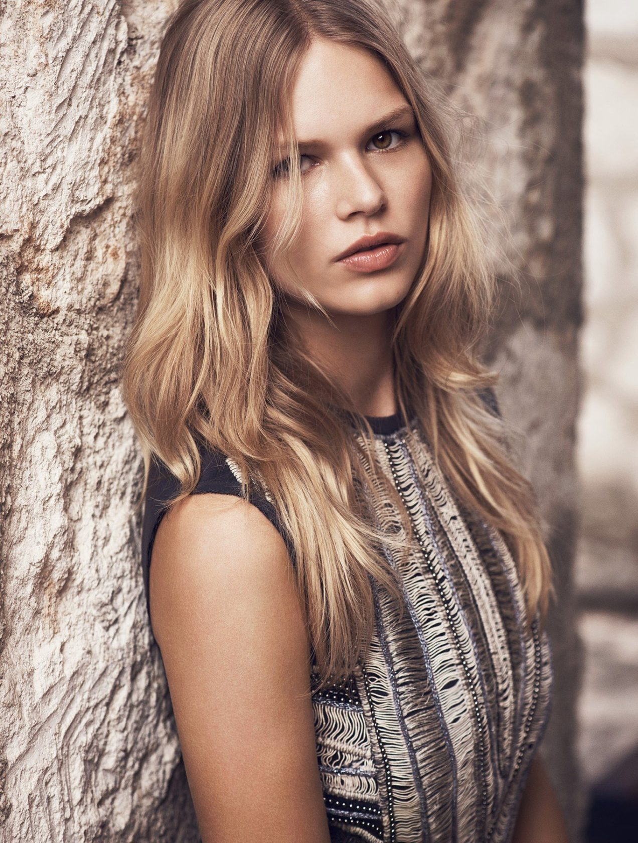 Anna Ewers in the photoshoot for the new summer 2015 collection of Mango, Image: 239133758, License: Rights-managed, Restrictions: , Model Release: no, Credit line: Profimedia, Thunder Press