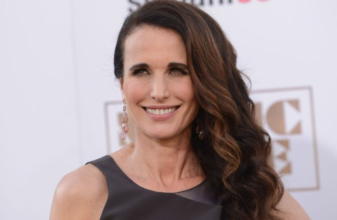 ANDIE MACDOWELL @ the premiere of 'Magic Mike XXL' held @ the Chinese theatre. June 25, 2015, Image: 251001975, License: Rights-managed, Restrictions: AMERICA, Model Release: no, Credit line: Profimedia, Visual