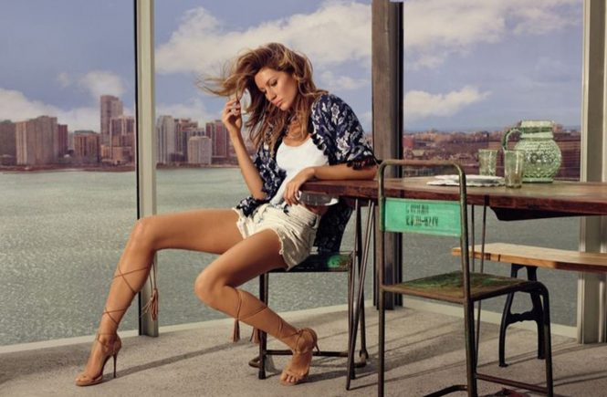, , 07, August 2015.- Brazilian model Gisele Bundchen continues her collaboration with Colcci. Now Gisele presents the brazilian fashion brand spring summer 2015 campaign ©DJ / TPC - 07/08/15 *Hands out pics*, Image: 254978369, License: Rights-managed, Restrictions: Pictures in this set: 7 As the promotional pictures in this set are defined as 'Hands Out', the supplier can´t be considered responsible of subsequent sales or any other legal matter concerning to the material provided. These promotional pictures has been provided without  any compromise between the parts and it is only under the responsibility of the recipient, who acknowledges the reception of these pictures as 'Hands Out'., Model Release: no, Credit line: Profimedia, Target Press