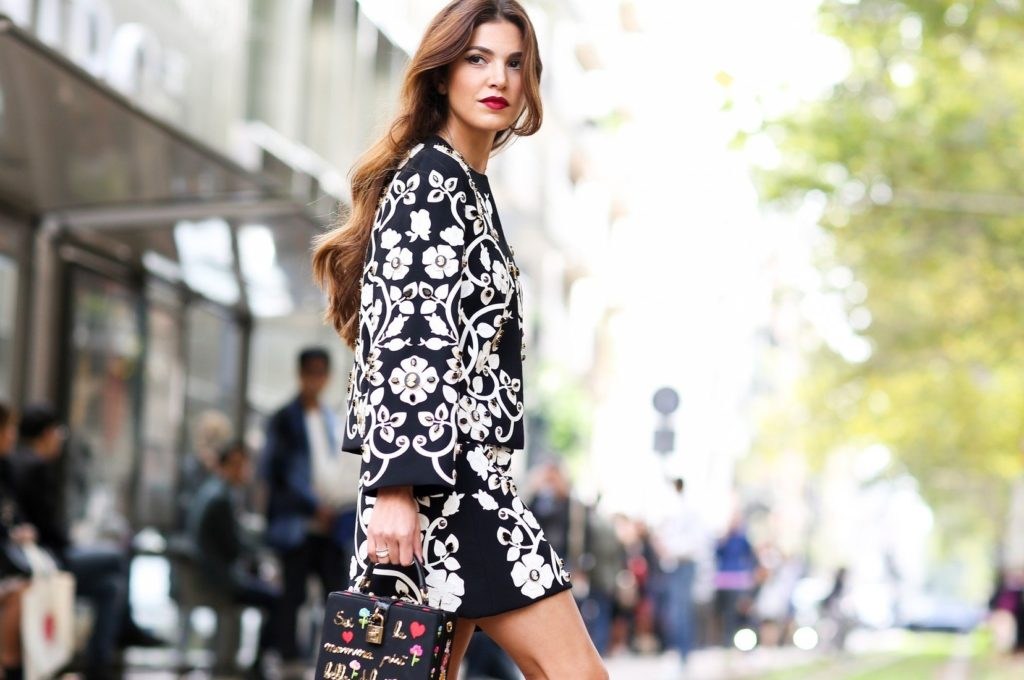 Street style, Negin Mirsalehi arriving at Dolce and Gabbana Spring Summer 2016 show held at Viale Piave, in Milan, Italy, on September 27th, 2015., Image: 260747428, License: Rights-managed, Restrictions: , Model Release: no, Credit line: Profimedia, Abaca