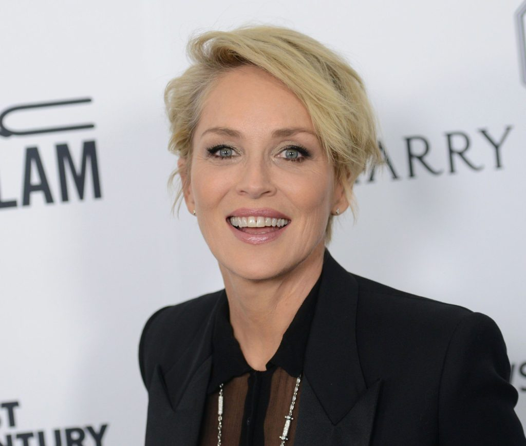 SHARON STONE @ the 2015 amFAR's Inspiration Gala held @ the Milk studios. October 29, 2015