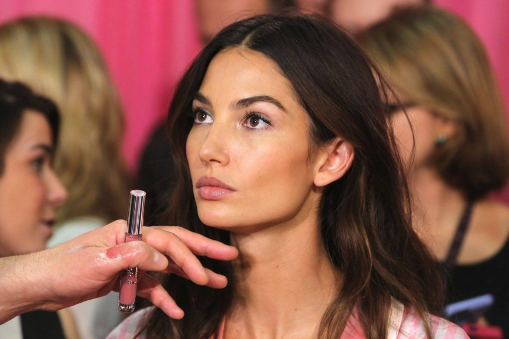 November 10 2015, New York City Model Lily Aldridge poses backstage prior to the 2015 Victoria's Secret Runway Show on November 10 2015 in New York City. The show will broadcast on December 8 2015 on CBS. By Line: Philip Vaughan/ACE Pictures ACE Pictures, Inc. tel: 646 769 0430 Email: info@acepixs.com, Image: 265680089, License: Rights-managed, Restrictions: , Model Release: no, Credit line: Profimedia, Acepixs
