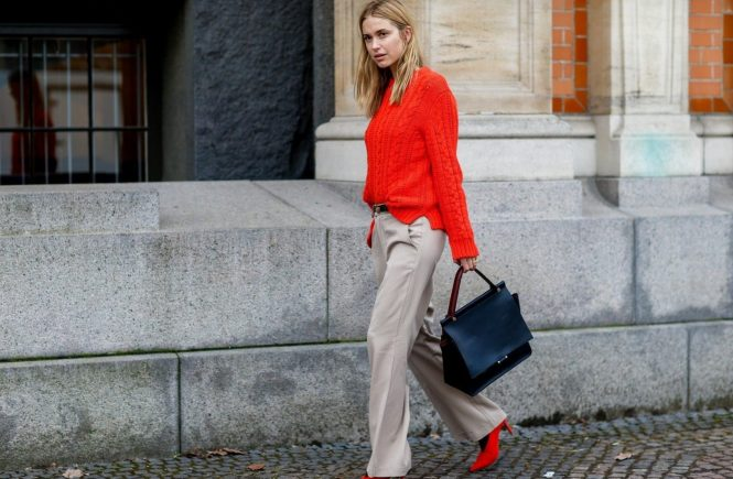 Street style, Pernille Teisbaek arriving at By Malene Birger Fall-Winter 2016-2017 show held at Glyptoteket, in Copenhagen, Denmark, on February 4, 2016., Image: 273542549, License: Rights-managed, Restrictions: , Model Release: no, Credit line: Profimedia, Abaca