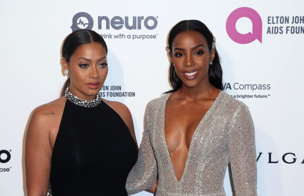 La La Anthony and Kelly Rowland, The 2016 Elton John AIDS Foundation Academy Awards Viewing Party (West Hollywood, CA.), Image: 275849569, License: Rights-managed, Restrictions: , Model Release: no, Credit line: Profimedia, StarMax