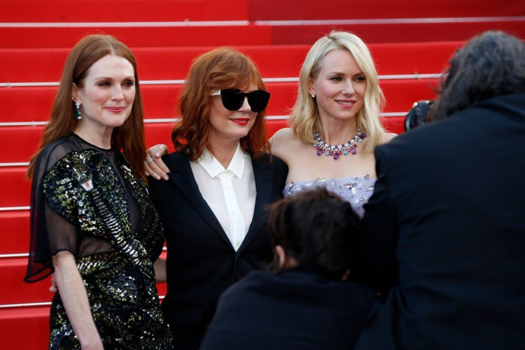 Julianne Moore, Susan Sarandon, Naomi Watts - Premiere for Cafe Society during Cannes international film festival 2016, Festival international du film de Cannes 2016 Cannes, France on May 11th, 2016, Image: 283999412, License: Rights-managed, Restrictions: , Model Release: no, Credit line: Profimedia, KCS Presse